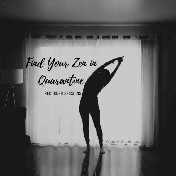 yoga with jennison
