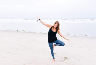 tips for yoga photo shoot