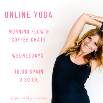 yoga in english in valencia spain