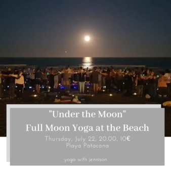 beach yoga valencia spain